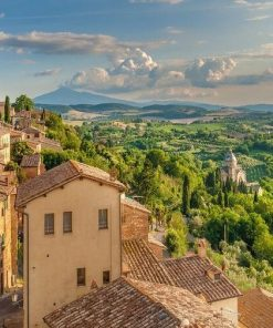 Tuscany Italy paint by numbers