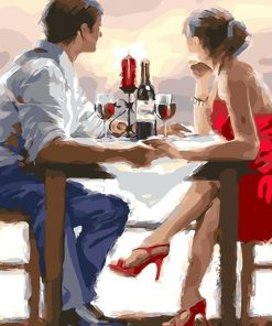 Romantic Dating paint By Numbers