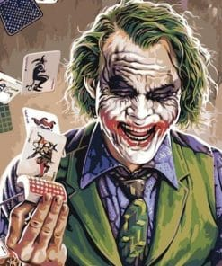 Joker Playing Card Paint By Numbers