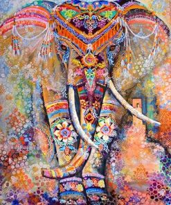 Esoteric Elephant Paint by numbers