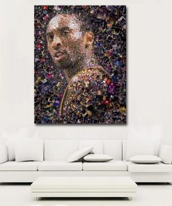 Kobe Bryant The Legacy paint By Numbers