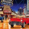 Masterpieces Car at Las Vegas paint by numbers