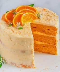 Orage-Cake-With-Cheese-Cream-paint-by-number-319x400