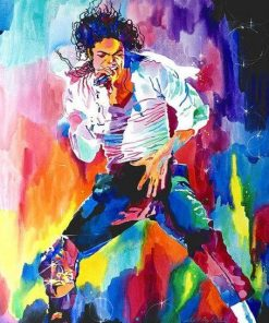 Michael Jackson Paint By Numbers