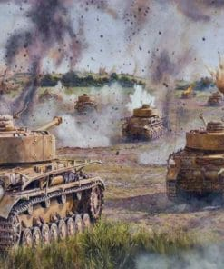 Panzers in The War Paint By Numbers