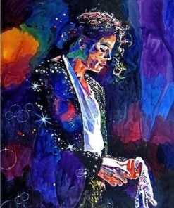 Michael Jackson Legacy Paint By Numbers