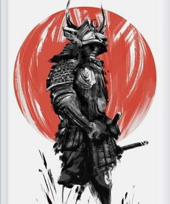 Samurai Paint By Numbers