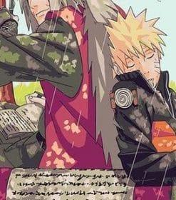 Jiraiya And Naruto paint by numbers