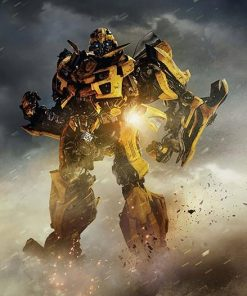 Bumblebee Transformer paint by numbers