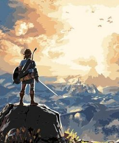 the legend of zelda paint by numbers