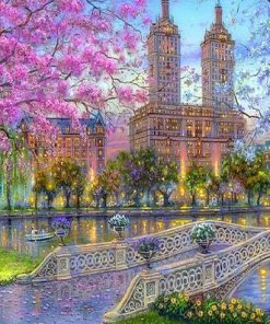 New York Central Park paint by numbers