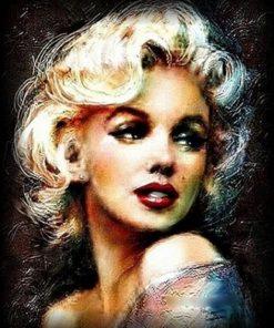 Sweet Marilyn Monroe paint by numbers