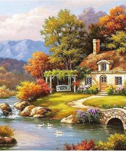 RUOPOTY-Frame-Fairyland-Landscape-Diy-Painting-By-Numbers-Kits-Coloring-Painting-By-Numbers-Unique-Gift-For
