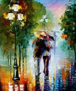 Romantic Lover Kits Coloring paint by numbers