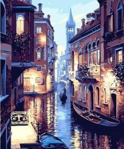 Venice Night paint by numbers