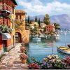 Venice Villa Seaside paint by numbers