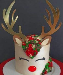 Riendeer-Cake-paint-by-numbers-319x400