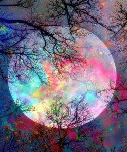 SDOYUNO-acrylique-num-rique-peinture-par-num-ros-paysage-color-lune-60X75cm-photos-par-num-ros-1