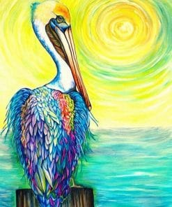 Pelican Artwork Paint by numbers