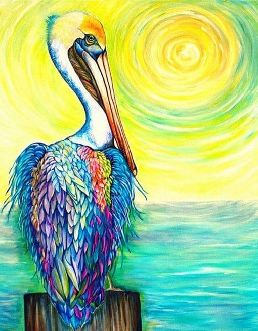 Pelican Artwork Paint by numbers