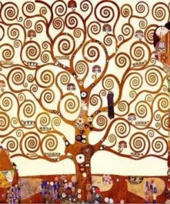 The Tree of Life By Gustav Klimt Paint by numbers