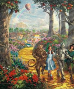 The Wizard Of Oz paint by numbers