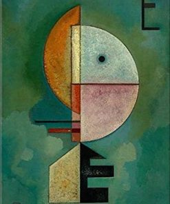 Upward By Wassily Kandinsky Paint by numbers