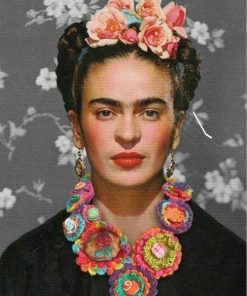 Frida Kahlo de Rivera paint by numbers