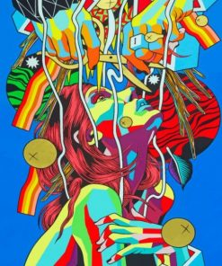Bicicleta Sem Freio Paint By Numbers