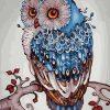 Mandala Owl Paint by numbers