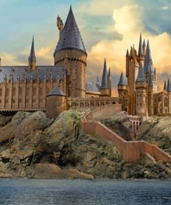 Harry Potter Puzzle Hogwarts paint by numbers
