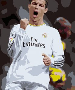 Cristiano Ronaldo paint By Numbers