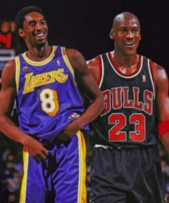 kobe And Jordan paint By numbers