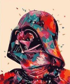Dark Vador Star Wars Paint By Numbers