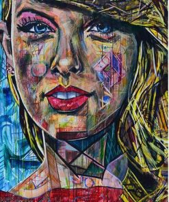 Colorful Taylor Swift Paint By Numbers