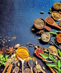 spices-spoons-paint-by-numbers-320x400