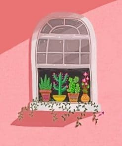 Cute Window With Plants