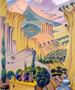 Desert Valley paint by numbers