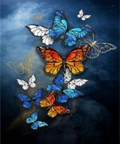Galaxy Butterflies