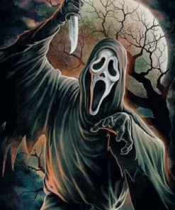 Ghostface paint by numbers