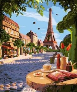 Paris Summer Day Paint by numbers