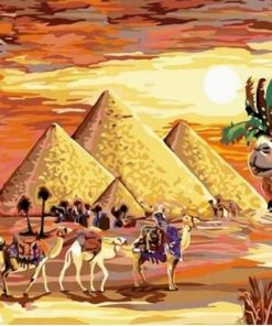 Egyptian Desert Paint by numbers