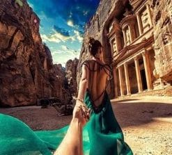 Follow Me To Petra Paint by numbers