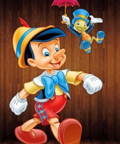 Pinocchio paint by numbers