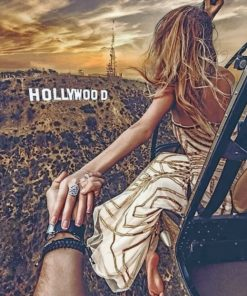 Follow Me To Hollywood paint by numbers