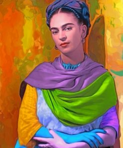 Frida Kahlo The Painter Paint by numbers