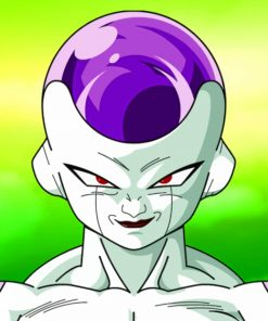 Frieza paint by numbers