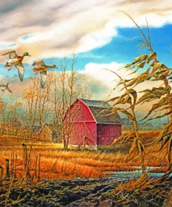 Homestead Terry Redlin Paint by numbers