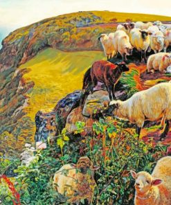 William Holman Hunt Our English Coasts Paint by numbers