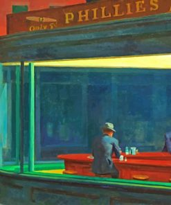 Nighthawks Paint by numbers